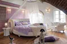 en yeni yuvarlak yatak odası görselleri