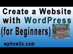Beginners WordPress Tutorial | How to Create a Website with WordPress | Step-by-Step Video Tutorial