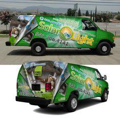 Create a Visual Van Wrap for Solar Light by j.chaushev