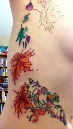 Leaf on the Wind (Firefly Tattoo, Work in Progress) - Album on Imgur