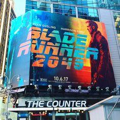 Blade Runner 2049 #newyork