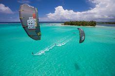 Tahiti is a dream - photo series: Julbo swell session - Kitesurf Magazine http://www.kitesurf-magazine.co.uk/featured/julbo-swell-session/ #kitesurfing #kiteboarding #tahiti @ ActionTripGuru