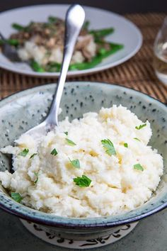 Garlic Mashed Cauliflower - We loved this as an alternative to potatoes. It's much lighter and the addition of miso is a good substitute for salt.
