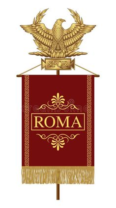 Ancient Rome, Ancient History, Roman Legion, Of Brand, Roman Empire, Projects To Try, Royalty Free Stock Photos, Eagle, Clip Art