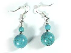 A turquoise earrings  from betulek by DaWanda.com