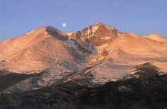 Longs Peak,  Colorado i would love to hike to the top someday its my dream <3