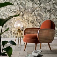 Our winter 2020 decor favorites at AM.PM and La Redoute Interiors - - Cane Furniture, Rattan Furniture, Vintage Furniture, Furniture Design, Retro Armchair, Modern Armchair, Relaxation Room, Relax Room, Winter Home Decor