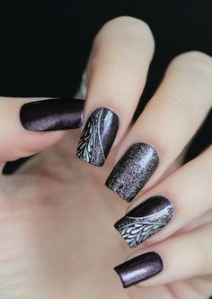 Different Nail Art Designs Look Great With Office