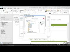 Microsoft Outlook 2013 Tutorial - Moving Messages Using Rules (Infinite Skills - Video Training)