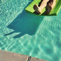 pool time photo by @happymundane on Instagram