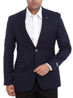 This fancy blue colored suit from Raymond makes a strong fashion statement on its own. You can wear it to your work place, social gathering or even on your day to day outings. It will enhance your personality when you wear it on a white colored shirt and dark colored trouser. It also boosts your confidence and makes you presentable. It is made up of pure cotton which ensures that you get a complete relaxed feel even after wearing it throughout the day.