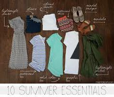 wardrobe essentials for summer - Google Search