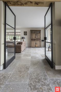 Tile trends 2019 - Home decoration is considered by some to be a character that reflects its owner. Not a few people who are willing to spend the costs that are not cheap to get a dream home concept. Stone Tile Flooring, Foyer Flooring, Travertine Floors, Natural Stone Flooring, Granite Flooring, Living Room Flooring, Concrete Floor, Stone Tiles, Large Floor Tiles