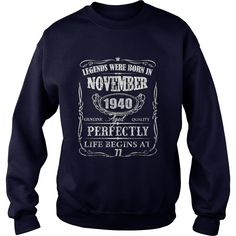 Legends Were Born In November 1940-77th Birthday Gift Shirt #gift #ideas #Popular #Everything #Videos #Shop #Animals #pets #Architecture #Art #Cars #motorcycles #Celebrities #DIY #crafts #Design #Education #Entertainment #Food #drink #Gardening #Geek #Hair #beauty #Health #fitness #History #Holidays #events #Home decor #Humor #Illustrations #posters #Kids #parenting #Men #Outdoors #Photography #Products #Quotes #Science #nature #Sports #Tattoos #Technology #Travel #Weddings #Women