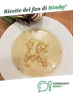 Vellutata porri e radicchio di Treviso è un ricetta creata dall'utente witch. Questa ricetta Bimby® potrebbe quindi non essere stata testata, la troverai nella categoria Zuppe, passati e minestre su www.ricettario-bimby.it, la Community Bimby®.
