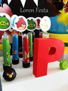 Decoração Angry Birds