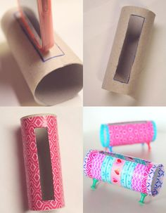 So going to try this Fun Diy Crafts, Diy Arts And Crafts, Craft Stick Crafts, Creative Crafts, Crafts To Make, Toilet Paper Roll Crafts, Paper Crafts, Diy Phone Stand, Diy Galaxy