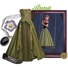 Frozen - Anna formal gown outfit