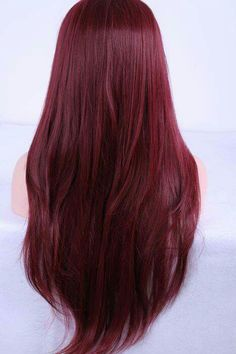 We've collected 47 gorgeous burgundy hair color ideas and styles that would look great with this sexy, rock-star hue. Go a bit outside your comfort zone and make an appointment with your stylist today to rock your new maroon or burgundy hair color! Pelo Color Vino, Cherry Red Hair, Cherry Coke Hair, Cherry Cherry, Wine Hair, Hair Color Auburn, Brunette Color, Bayalage Brunette, Spring Hairstyles