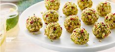 Goat+Cheese+Balls+with+Pistachio+and+Dried+Cherries