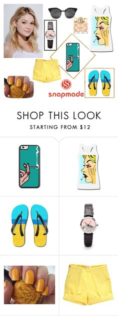 """""""#7 Snapmade"""" by nedzada-97 ❤ liked on Polyvore featuring Neutrogena, OPI and Avon"""