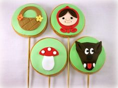 Red Riding Hood Cookie collection!