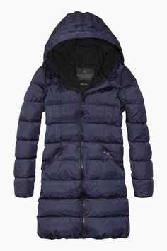LONG PUFFER COAT BY MAISON SCOTCH - ECO D.