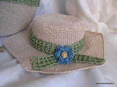 tutorial schema cappello uncinetto estivo