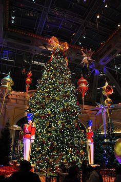Christmas at the Bellagio in Las Vegas