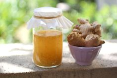 """The """"ginger bug"""" has grown in popularity over the years and is a fantastic way to make soda for your family. You don't need a starter culture or even kefir whey. A ginger bug is a mixture of sugar, ginger, and water that captures wild yeasts and beneficial bacteria. Let it ferment for a few …"""