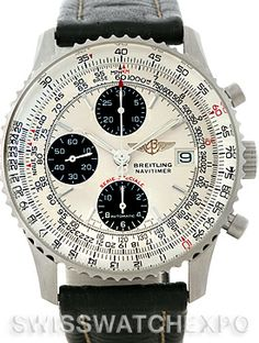 ab814806260 Breitling Navitimer Fighter Automatic Chronograph Steel Watch A13330