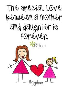 So true. We only have one mom in a life time. I love my mom! I'm also blessed to have a daughter. I love my daughter! Mother Daughter Quotes, I Love My Daughter, My Beautiful Daughter, Love My Kids, I Love Mom, Mother Quotes, I Love Girls, Mom Quotes, Mothers Love