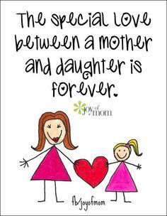 Mom and Daughter! AMEN! ALLELUIA!