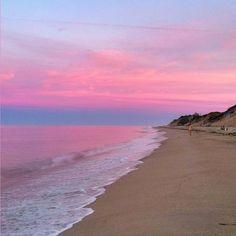 Sunset + Cape Cod = absolutely gorgeous #wellfleet
