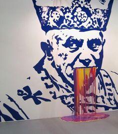 Purging Pope | Zane Lewis | 2007