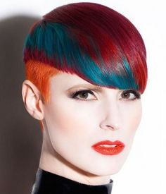 We've gathered our favorite ideas for Short Orange Red And Teal Hair By Daniel Rubin Hair, Explore our list of popular images of Short Orange Red And Teal Hair By Daniel Rubin Hair in red-orange hair. Red Orange Hair, Teal Hair, Red And Teal, Teal Orange, Red Turquoise, 2015 Hairstyles, Creative Hairstyles, Cool Hairstyles, Braid Hairstyles