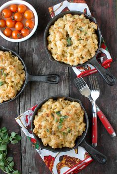 Creamy Roasted Green Chile Chicken Mac and Cheese