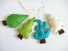 Christmas ornament home decor by laborczy on Etsy