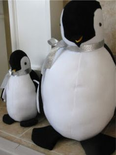 Stuffed Fleece Penguins