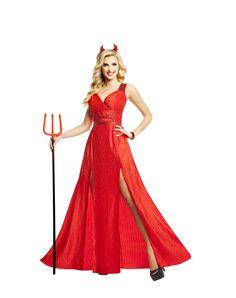 Red Carpet Devil Adult Womens Costume