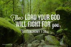 Whatever you're facing stare it square on. The Lord will fight for you friend.