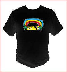 65a49db09f65 Ofwgkta Odd Future Rainbow logo style BLACK T-SHIRT tyler The Creator