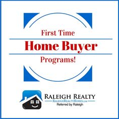 Buying a house for the first time is a big decision. Are you a first time home buyer? Are you aware of the programs, assistance, grants, and benefits first time home buyers receive when purchasing a house? Check out these national, state, and local programs (specific to First Time Home Buyers in Raleigh NC)!