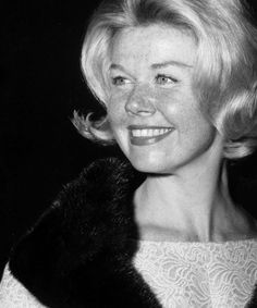 Doris Day (just look at those freckles!)