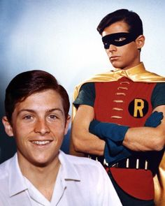 Born: July 1945 ~ Burt Ward is an American actor and activist best known for his portrayal of Robin, the sidekick of Batman, in the television series Batman, its theatrical feature film, the 1977 Saturday Morning animated. Batman Y Robin, Batman 1966, Marvel Dc Comics, Superman, Batman Cast, Batman Tv Show, Batman Tv Series, Larry Wilcox, Batwoman