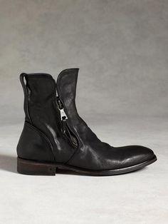 John Varvatos Fleetwood Wire Zip Boot