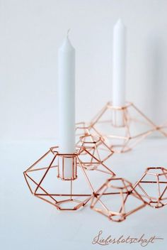 Liebesbotschaft: copper into the Christmas spirit: Advent wreath + + Adventsclutch! Diy Inspiration, Interior Inspiration, Copper Interior, Deco Rose, Copper Rose, Christmas Mood, White Christmas, Home And Deco, Home Accessories