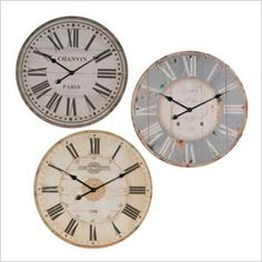 Know what time your favorite Olympian is going on with these unique vintage wall clocks. Pick your favorite one to hang above the mantel or above your television set.