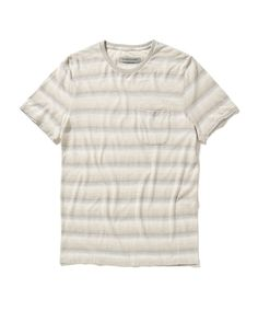 Outerknown is a coastal-minded men's clothing brand that explores the connections between style and sustainability. Mens Clothing Brands, Ron Weasley, Clean Design, Pocket, Tees, Mens Tops, Clothes, Shopping, Style