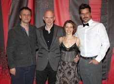 Evita Preview Performances: Director Michael Grandage, Michael Cerveris, Elena Roger and Ricky Martin